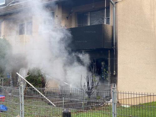 Junoweg Wohnungsbrand