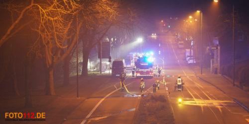 Containerbrand Wittener Straße Castrop