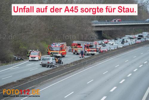 A45 Unfall