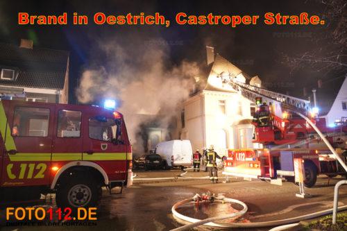Feuer in Oestrich