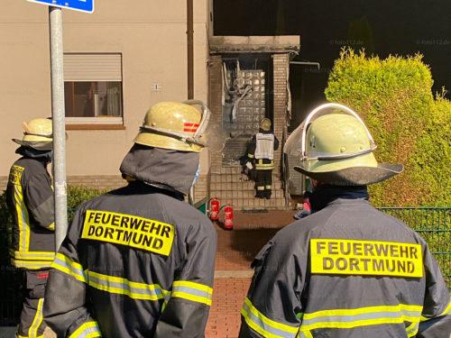 Feuer Friedrichsruher Straße