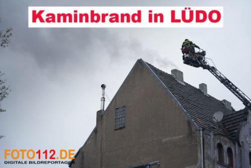 Kaminbrand in LÜDO
