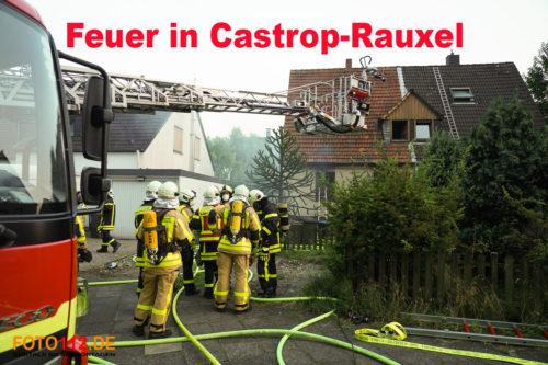 Feuer in Castrop-Rauxel