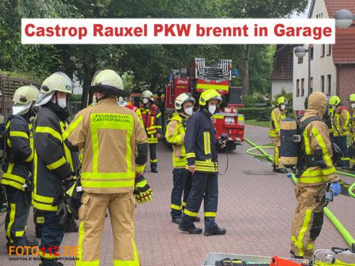 Feuer in Castrop