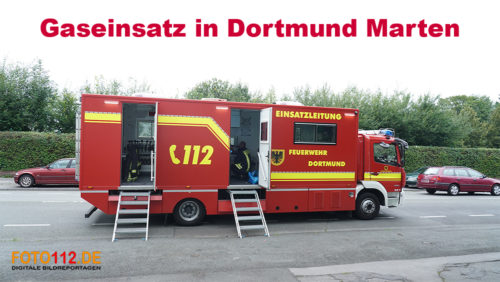 Gaseinsatz in Dortmund West