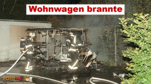 Feuer in Lütgendortmund