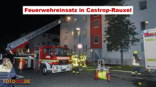 Feuerwehreinsatz Harkortstraße, Castrop