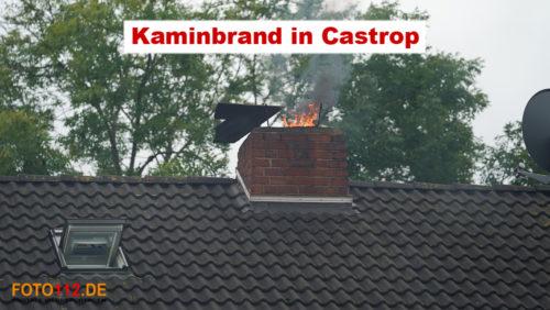 Kaminbrand in Castrop