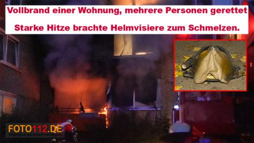 Dortmund West Wohnungsbrand